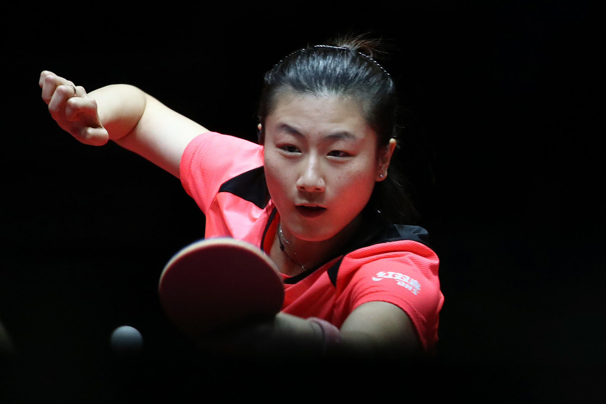 Ding Ning is the top seed in the women's singles event ©Getty Images