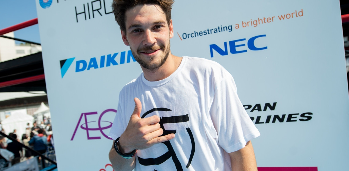Harmat claims speed run victory at FIG Parkour World Cup