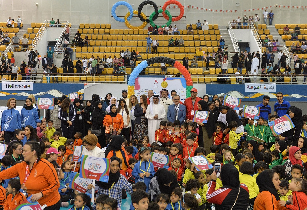 In total, 1,029 children participated in the second Baby Games ©BOC