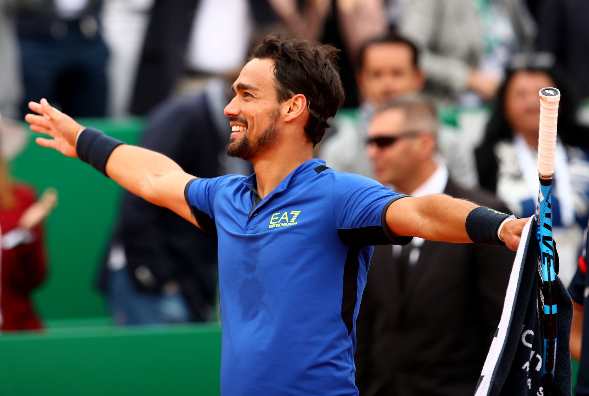 Fognini ends Nadal's title defence of Monte-Carlo Masters
