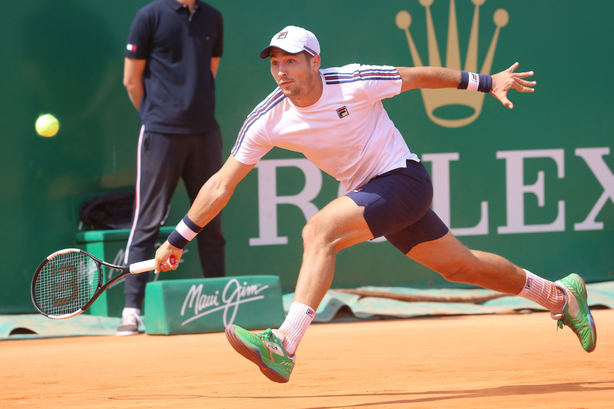Serbia's Dušan Lajović will meet Italy's Fabio Fognini in the Monte-Carlo Masters final ©Getty Images
