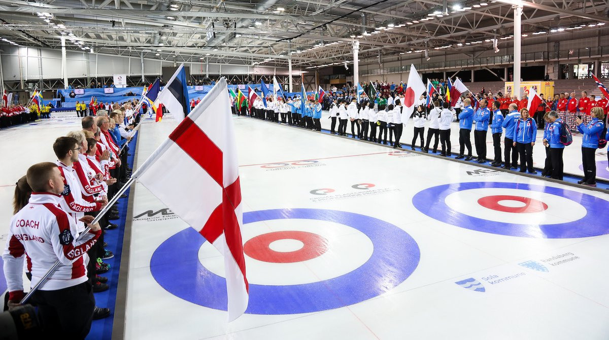 United States among winners as World Mixed Doubles Curling Championship opens in Stavanger