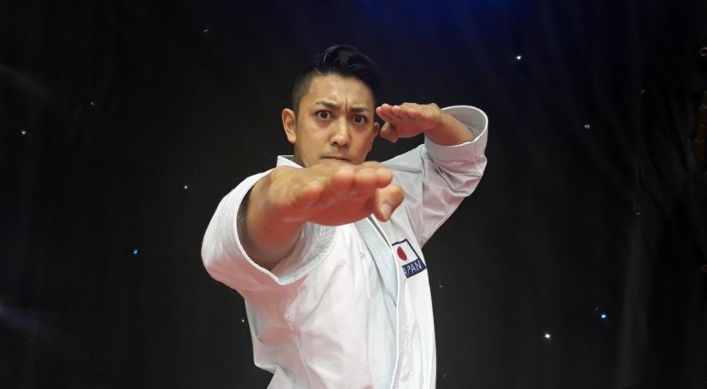 World champion Kiyuna to face rival in kata final at WKF Karate1-Premier League in Rabat