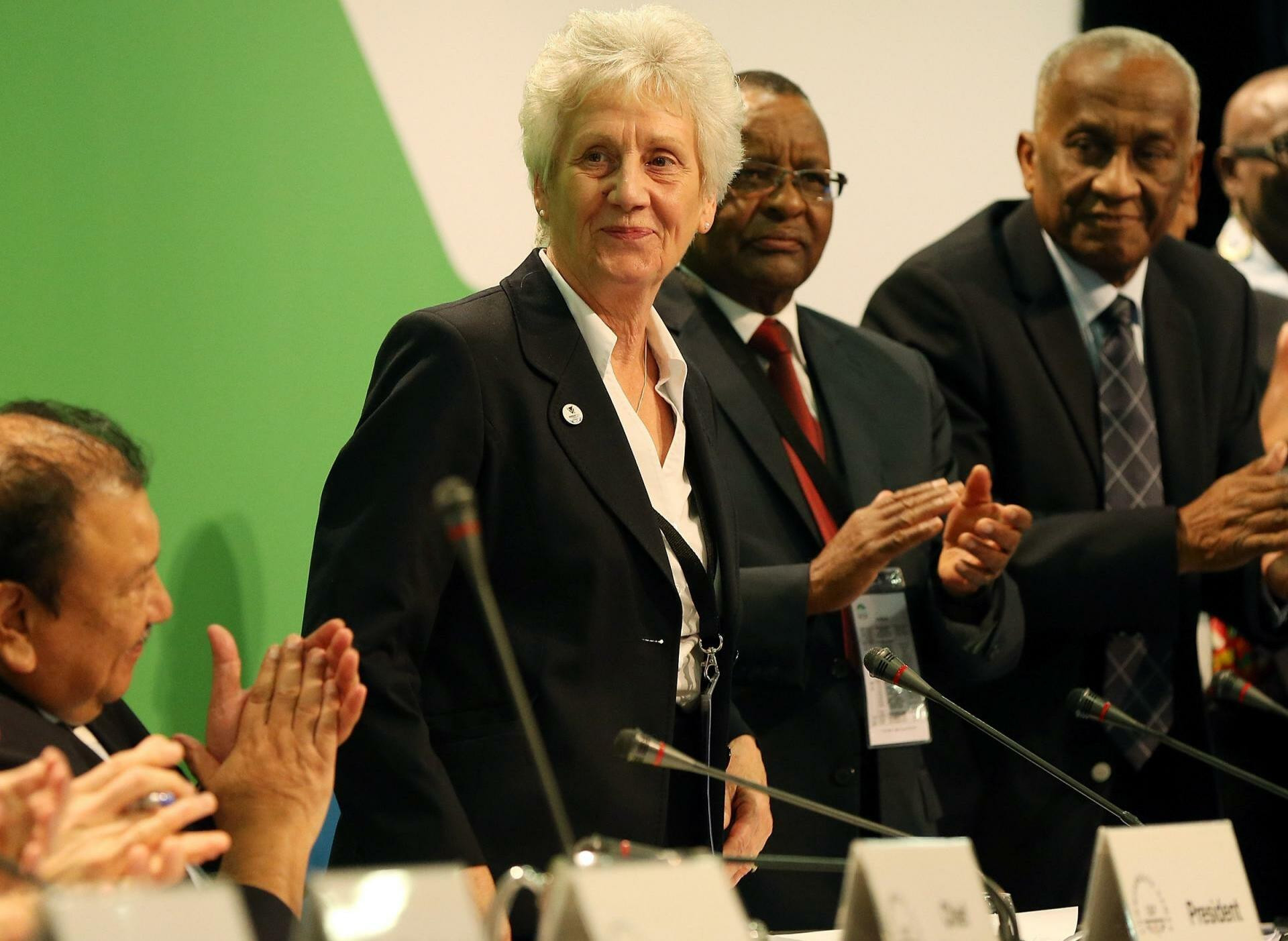 Dame Louise Martin was elected Commonwealth Games Federation President at its General Assembly in 2015 ©Getty Images
