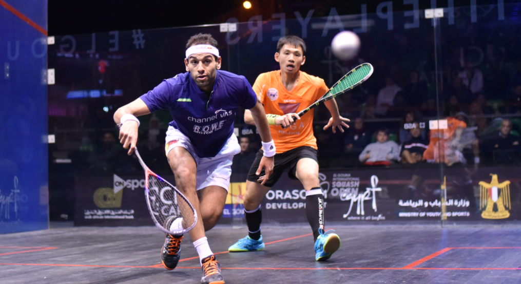 Defending champion Elshorbagy wins opening match of El Gouna International