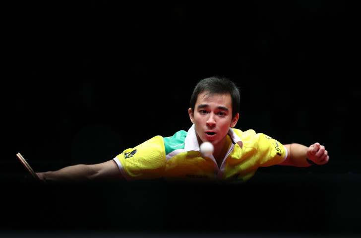 Brazil's 22-year-old Hugo Calderano will be a dark horse at the ITTF World Championships, having inflicted a rare victory on China's world number one and title favourite Fan Zhendong last December ©Getty Images