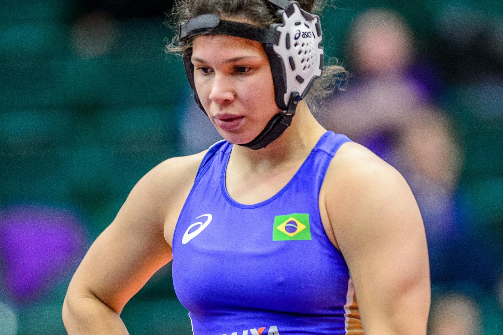 Lais Nunes de Oliveira prevented another member of the US team from topping a podium ©UWW