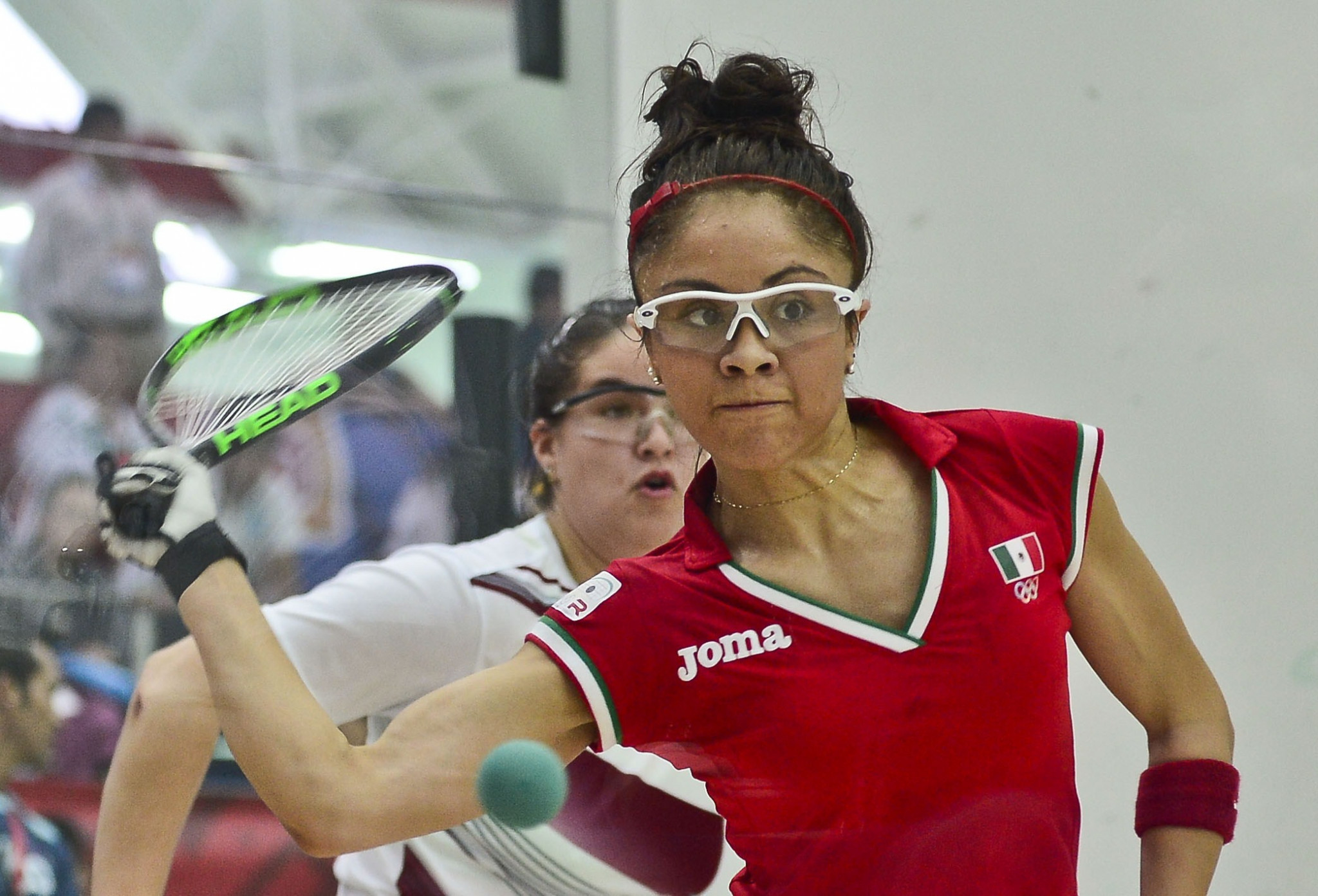 Longoria claims women's singles and doubles crowns at Pan American Racquetball Championships