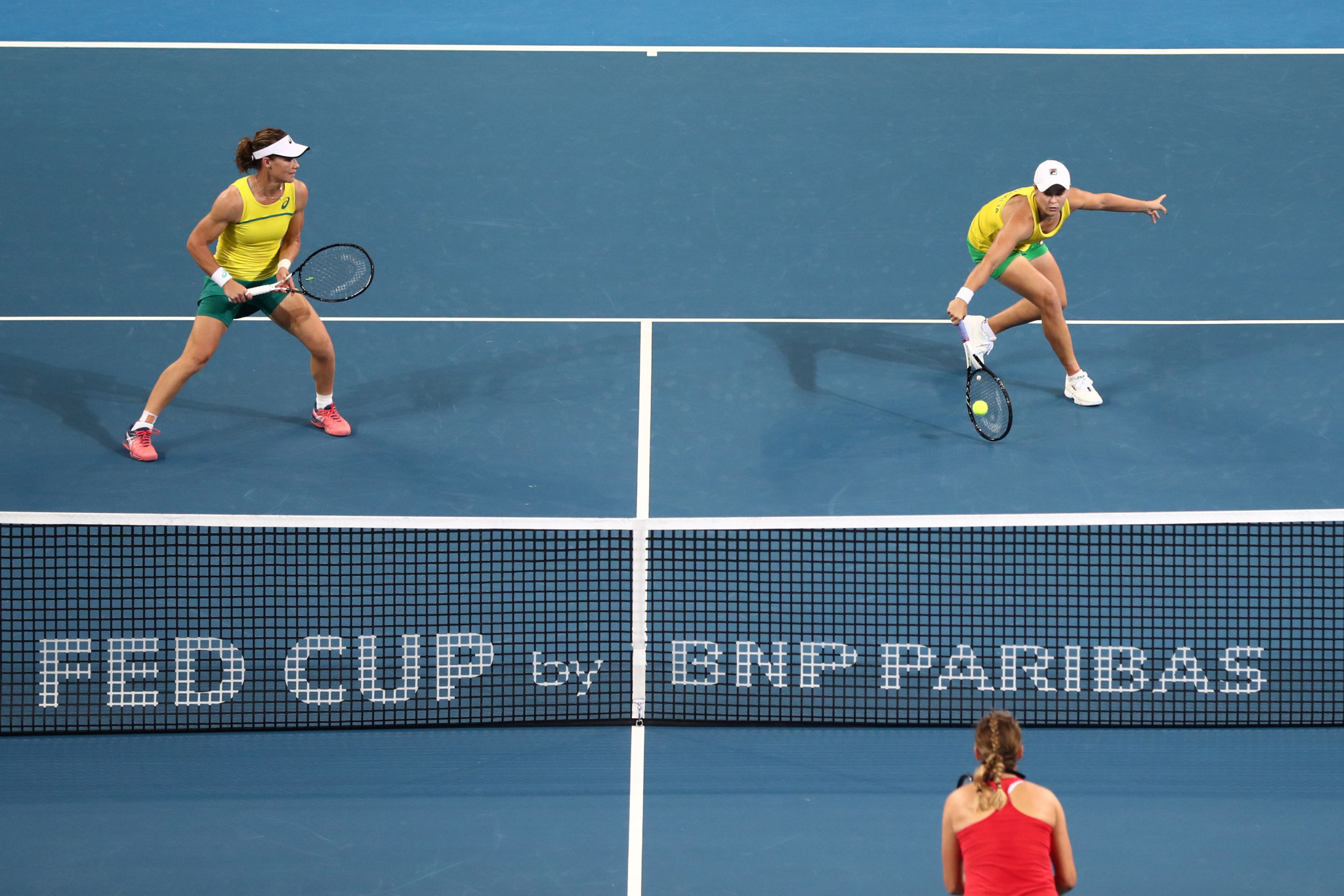 Barty and Stosur send Australia through to first Fed Cup final for 26 years