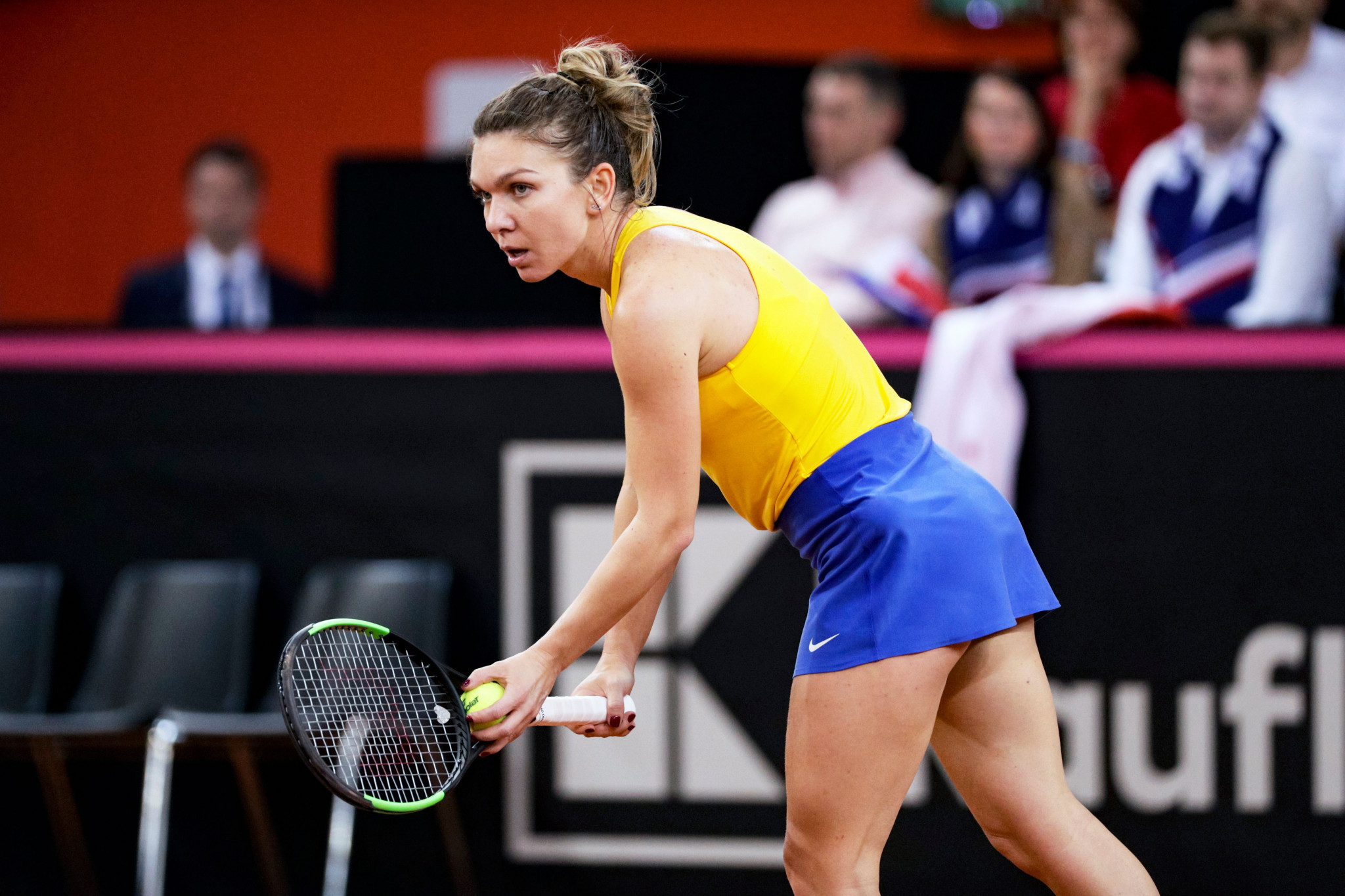 Romania's Simona Halep is currently second in the world rankings ©Getty Images