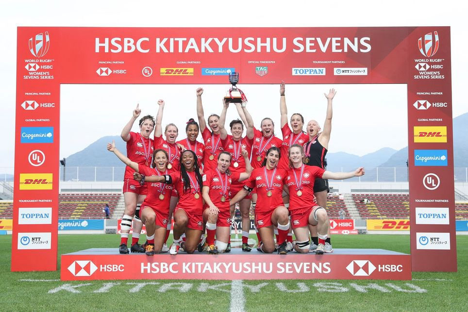 Canada win World Rugby Sevens Series in Kitakyushu with last minute victory