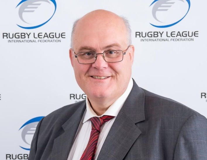 RLIF chief executive Nigel Wood spoke of the importance of the rolling calendar discussed at the Board meeting ©RLIF