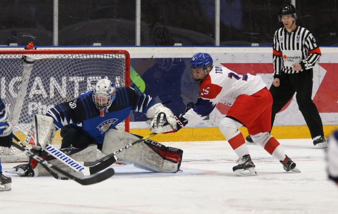 The Czech Republic overcame Finland to secure their place in the last eight ©IIHF