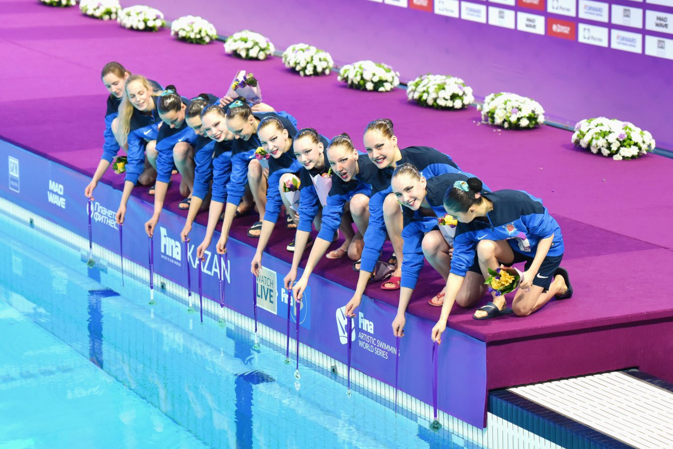 Russia take two more golds to end successful FINA Artistic Swimming World Series