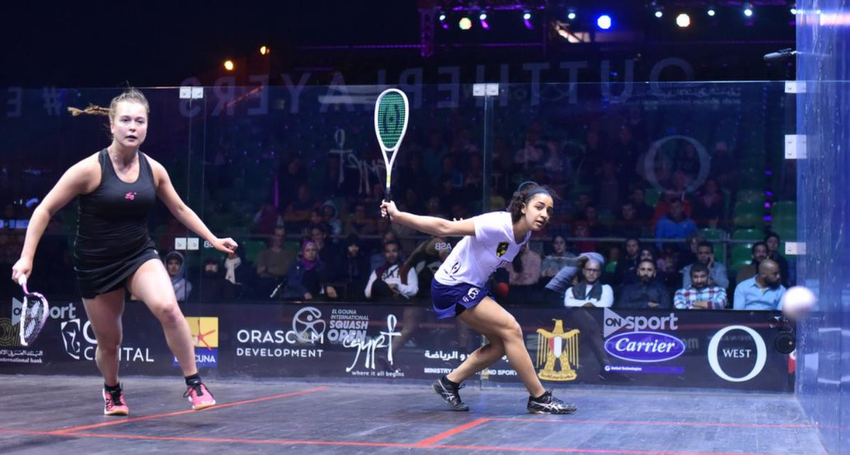 El Welily swats aside Gilis to reach El Gouna International quarter-final