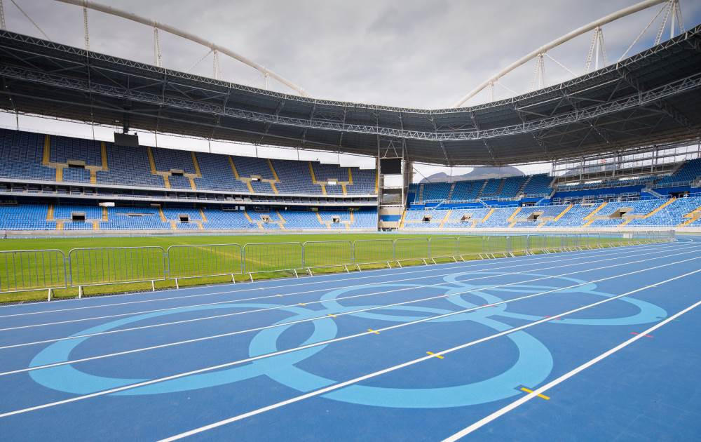 Mondo has supplied the athletics track for every Olympic Games since Barcelona 1992, including Rio 2016 ©Mondo