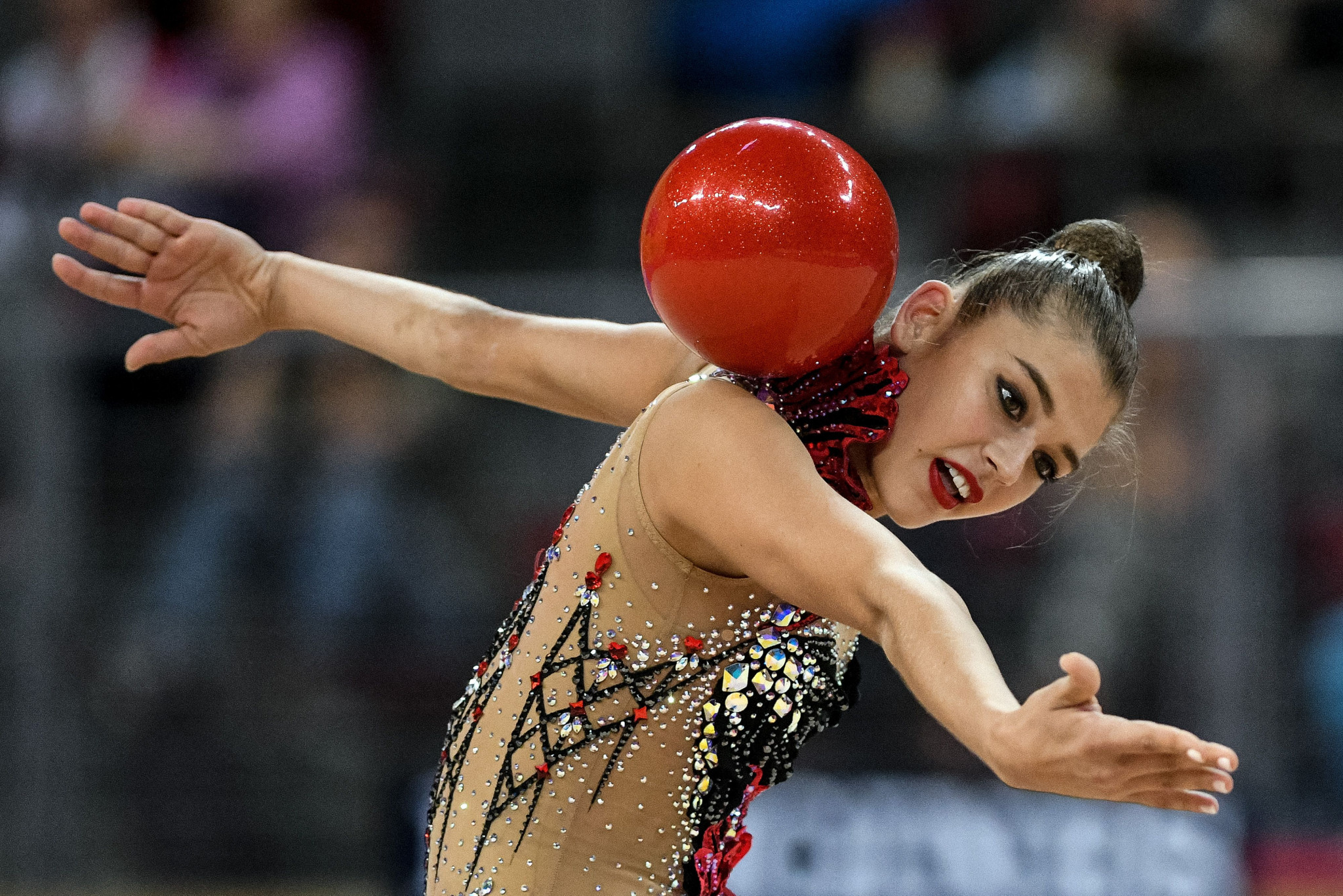 Soldatova stars with four gold medals at FIG Rhythmic Gymnastics World Cup