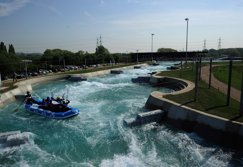London 2012's permanent canoe slalom venue cost around €43 million but Tony Estanguet believes a temporary facility could be made for under €10 million