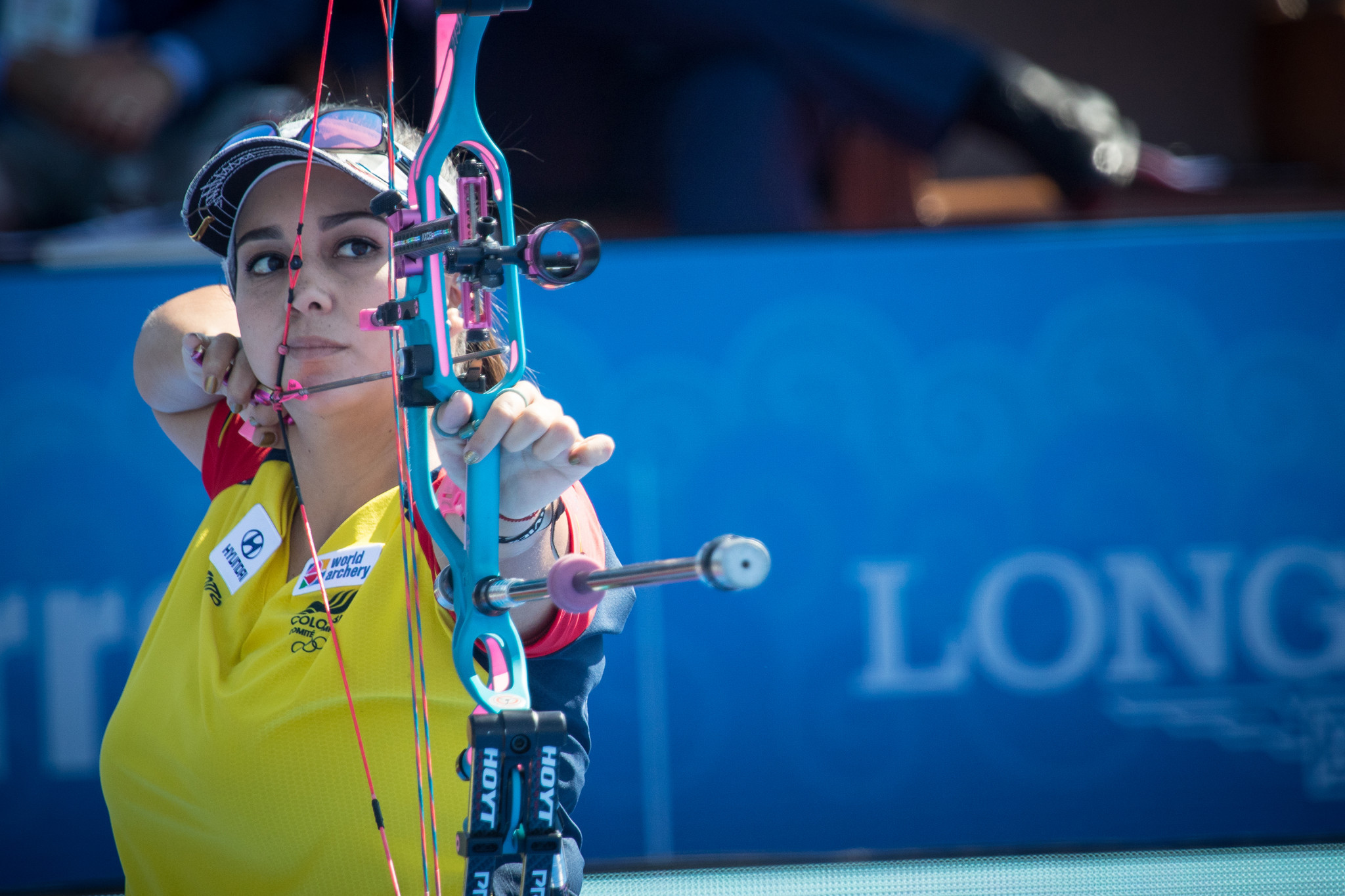 López aiming for best possible start to season at home Archery World Cup in Medellin