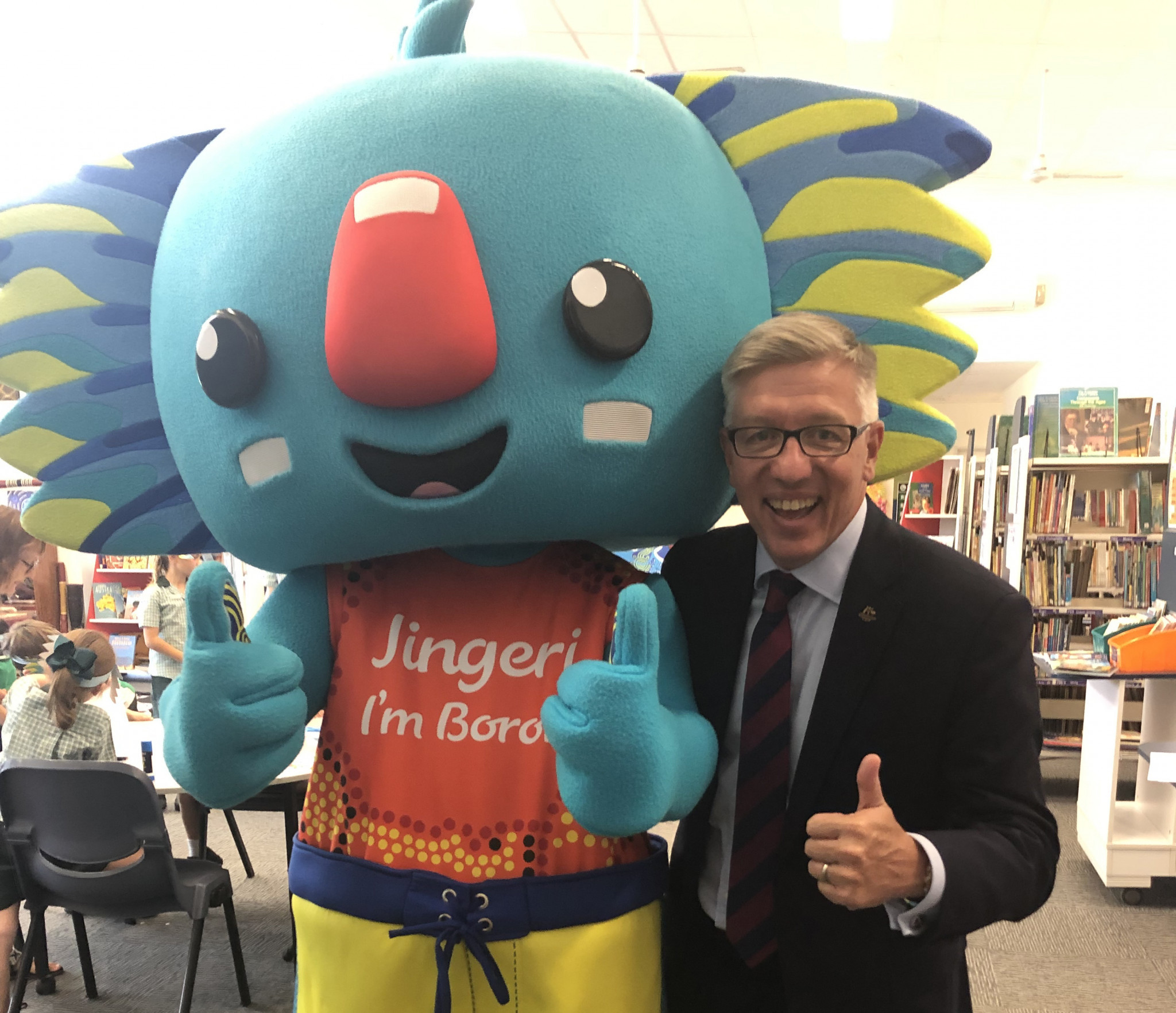 Gold Coast 2018 mascot Borobi reborn as champion for  Indigenous languages