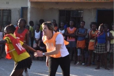 Netball World Cup legacy programme event held in Zambia
