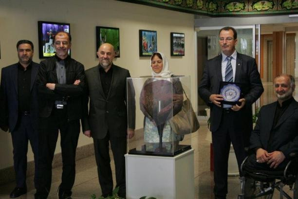 Maher Ben Ziaa, the Tunisian youth and sports minister, visited Iran and recommended greater Para-sport ties ©INPC