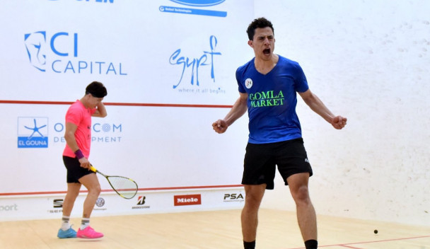 Egyptian Dessouky defeats sixth seed Rodríguez at El Gouna International