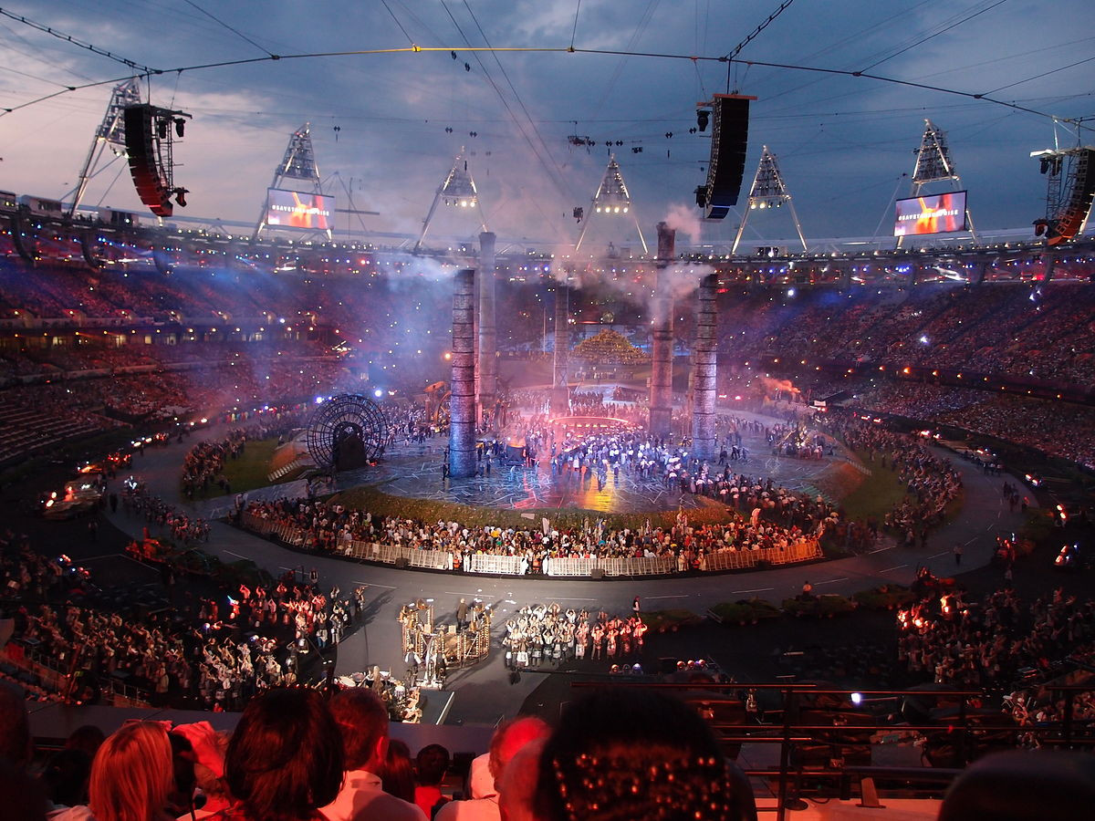 Martin was the head of ceremonies for the 2012 Olympic and Paralympic Games in London ©Wikipedia