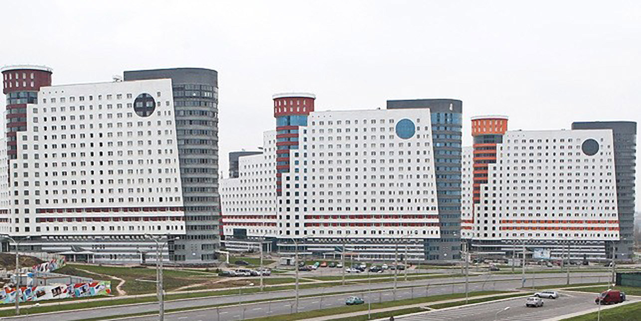 Athletes competing at this year's European Games are set to be lodged in Minsk University ©Minsk 2019