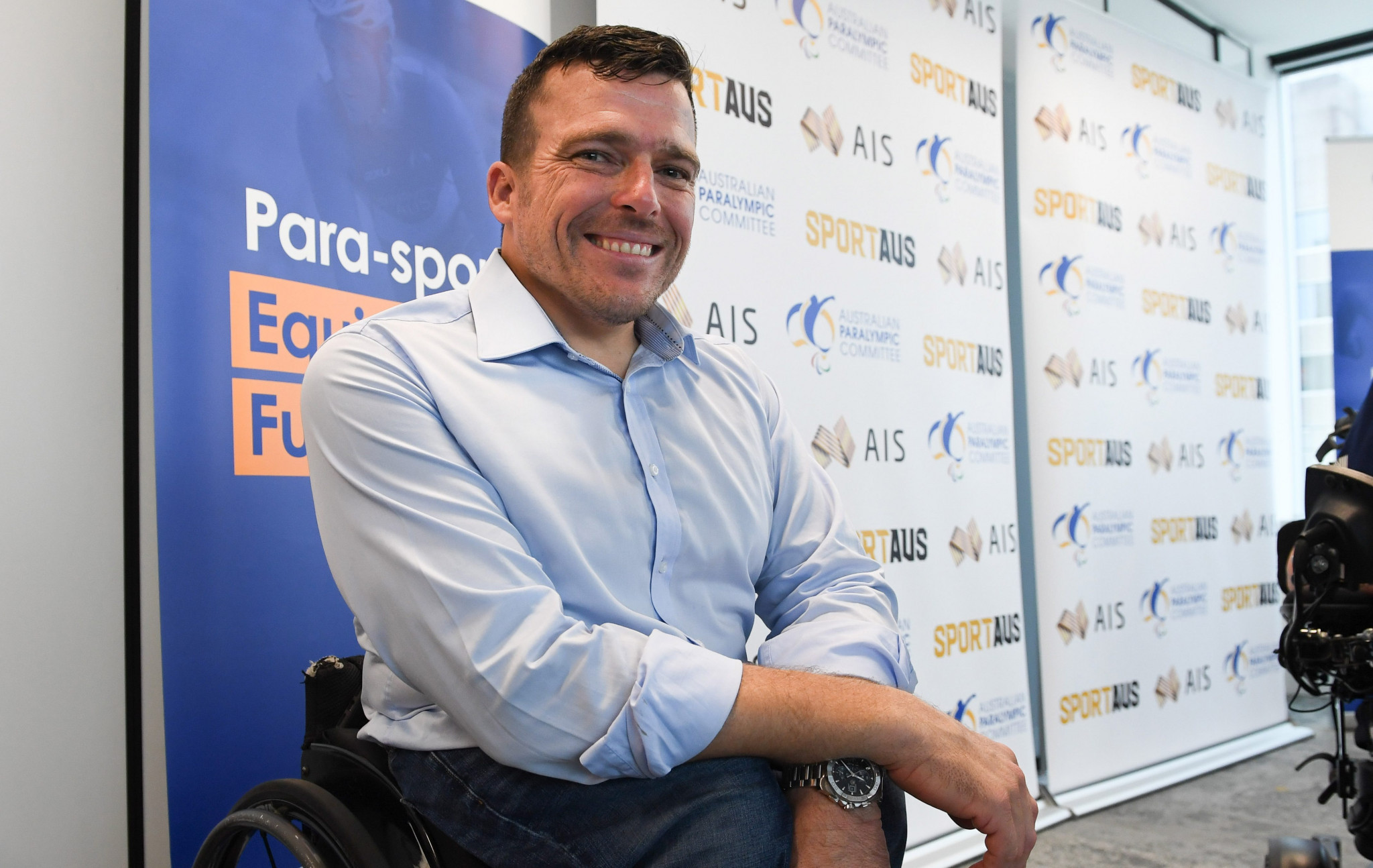 Paralympics Australia's Para-sport Equipment Fund celebrates first corporate donation