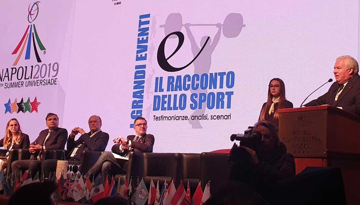 International Sports Press Association Europe holds 2019 Summer Universiade symposium in Naples