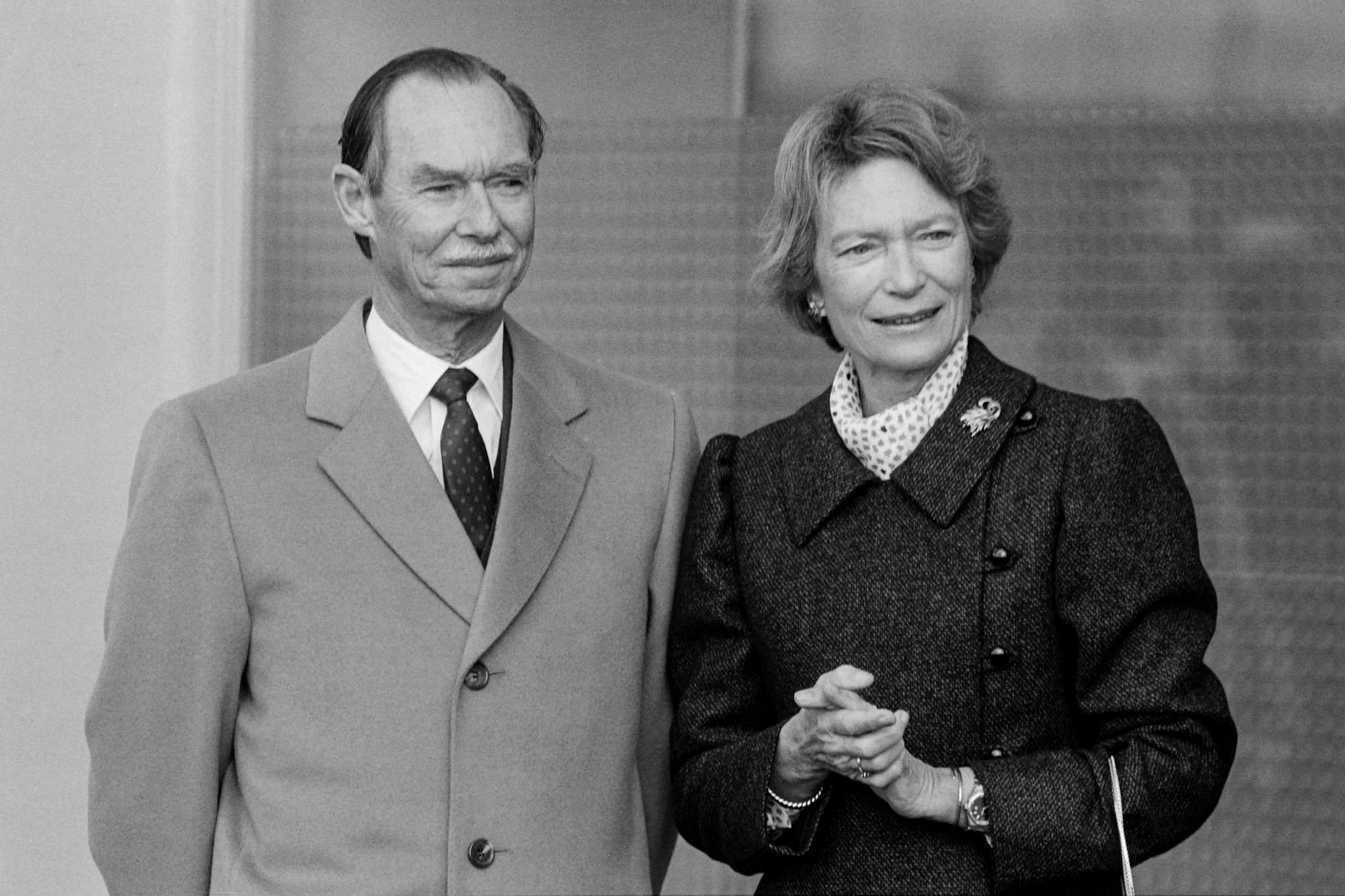 Grand Duke Jean, left, reigned as Grand Duke of Luxembourg from 1964 until 2000 ©Getty Images