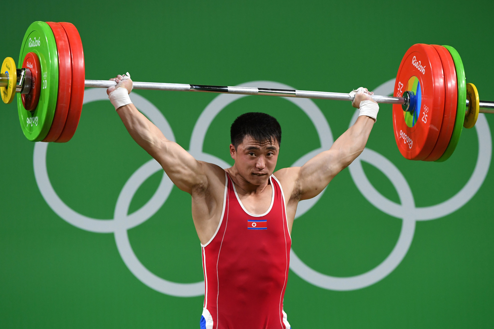 North Korea's Choe Jon-wi was the men's 81kg runner-up ©Getty Images
