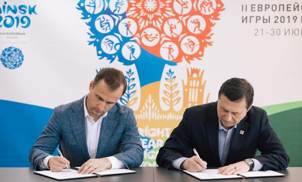 Online information portals become media partners of Minsk 2019 European Games