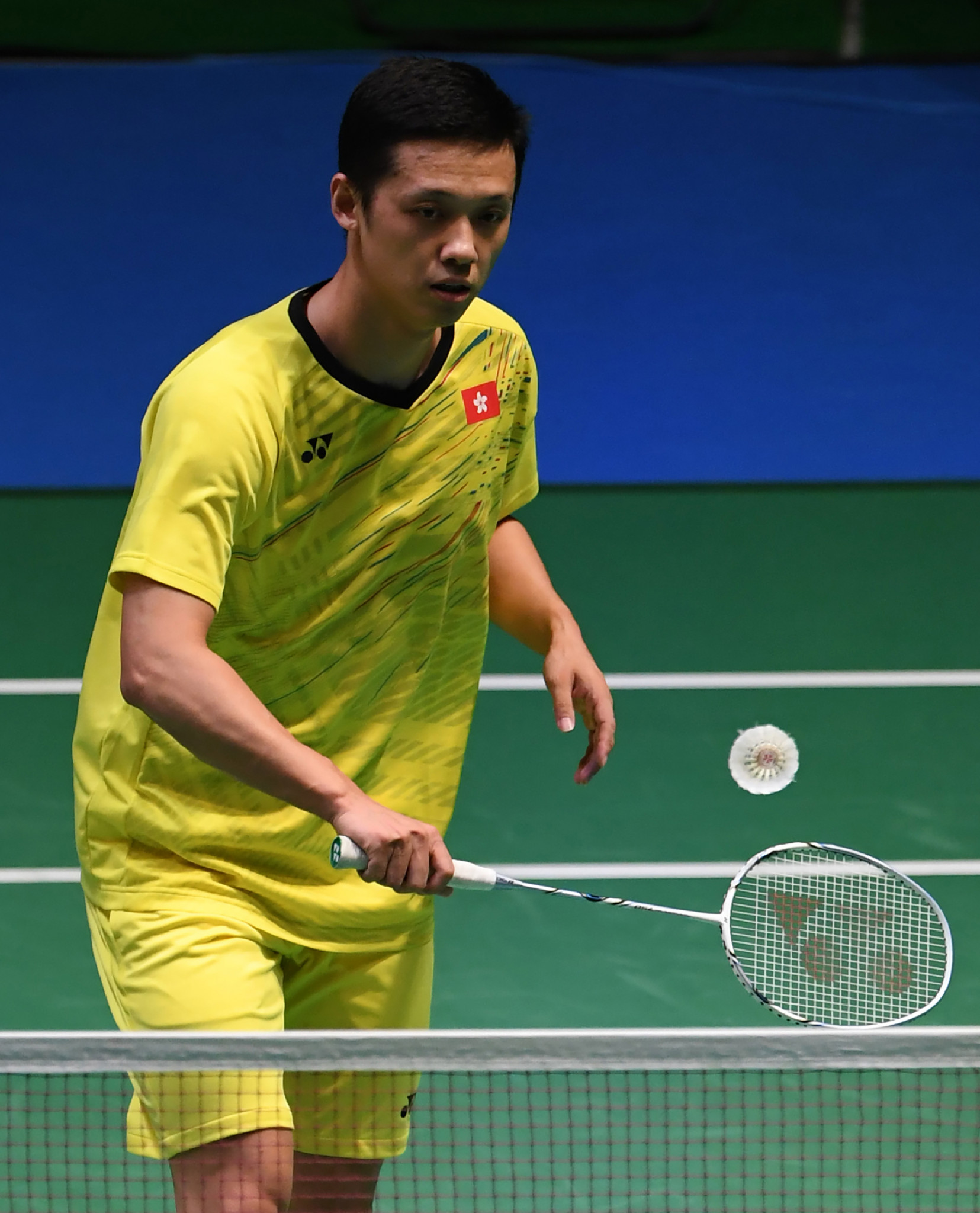 Hong Kong's Hu to face seventh seed Sugiarto in first round of Badminton Asia Championships