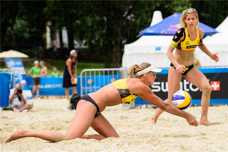 Olympic gold medallist Laura Ludwig will make her return after nearly two years away from the sport ©FIVB