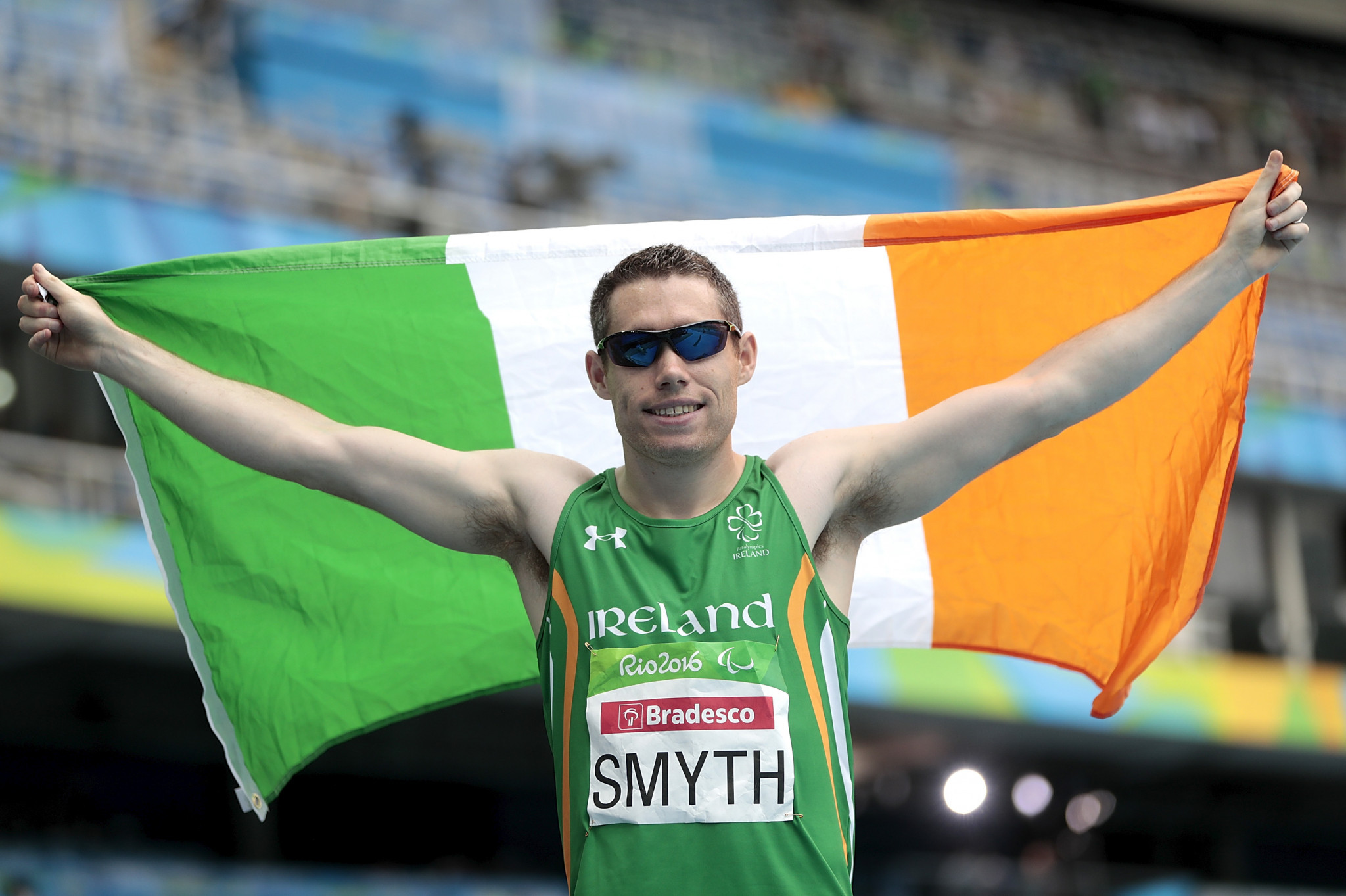 Denis Toomey served as Ireland's Chef de Mission at the Rio 2016 Paralympic Games, where sprinter Jason Smyth won one of the country's four gold medals ©Getty Images