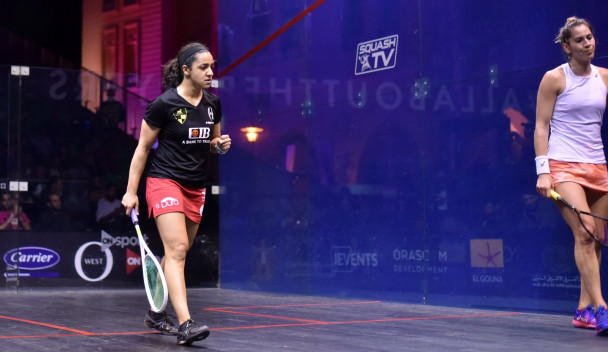 Top seed El Welily through to semi-finals at El Gouna International
