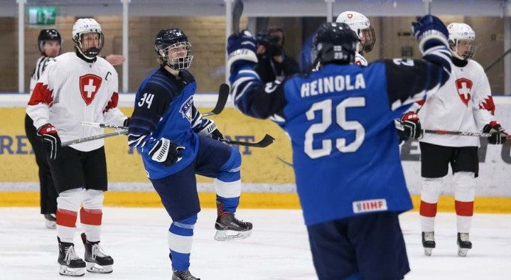 Finland thrash Switzerland to qualify for quarter-finals at IIHF Under-18 World Championship