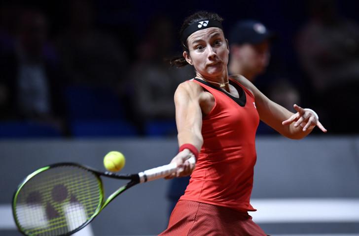 Latvia's seventh-seeded Anastasija Sevastova earned a 6-2, 4-6, 6-0 win over compatriot Jelena Ostapenko at the Stuttgart Open ©Getty Images