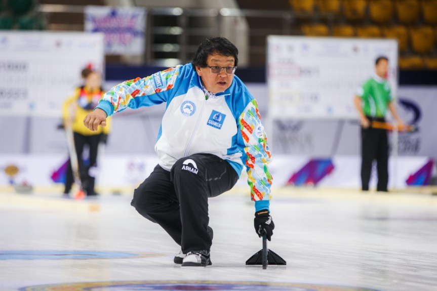 Kazakhstan coach suspended from World Mixed Doubles Curling