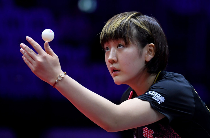 China's second seed Chen Meng has also made a perfect start to the ITTF World Championships women's singles competition ©Getty Images