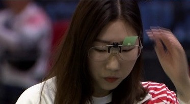 South Korea's Kim Min-jung won the women's 10m air pistol final at the ISSF World Cup in Beijing ©ISSF