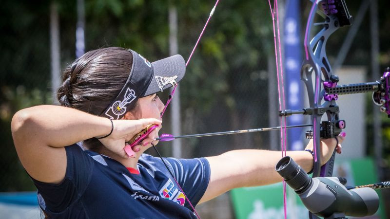 Home favourite López tops qualification at Archery World Cup in Medellin