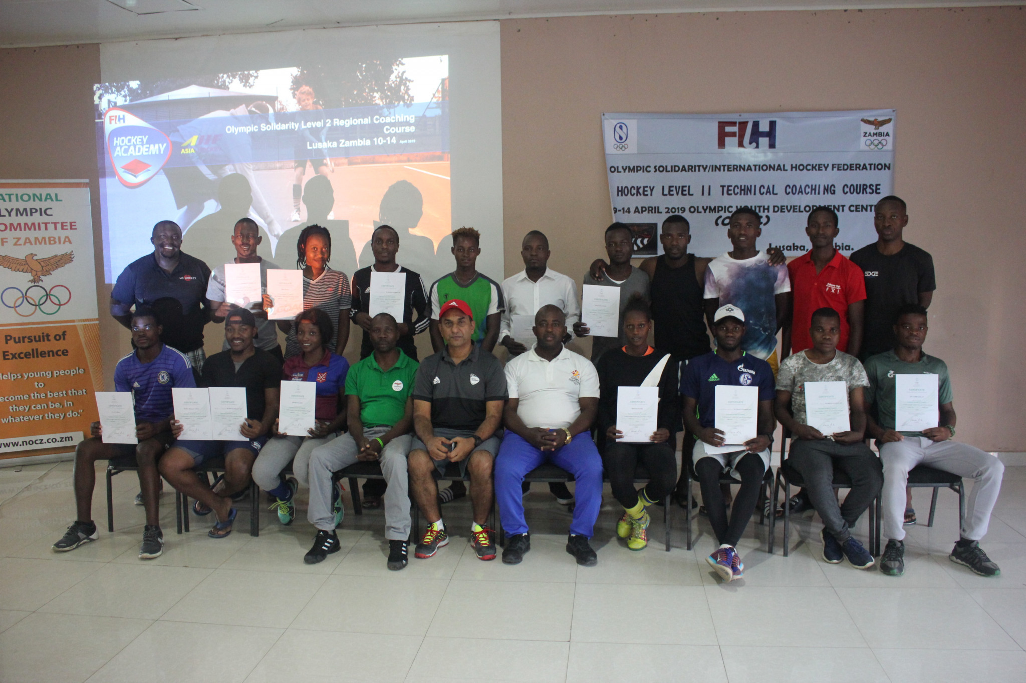 Zambia hosts hockey training coaching course for Southern African nations