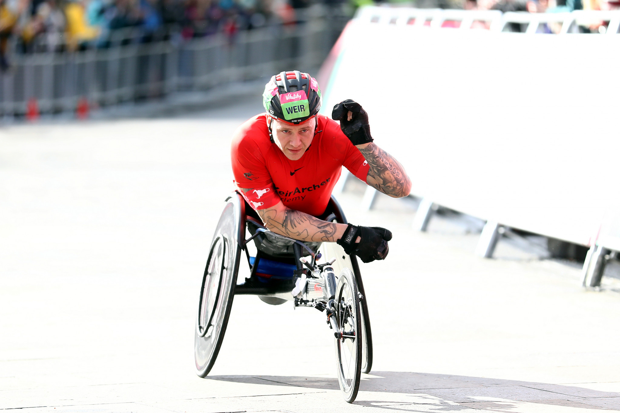 David Weir will compete for the 20th time at the London Marathon on Sunday ©Getty Images