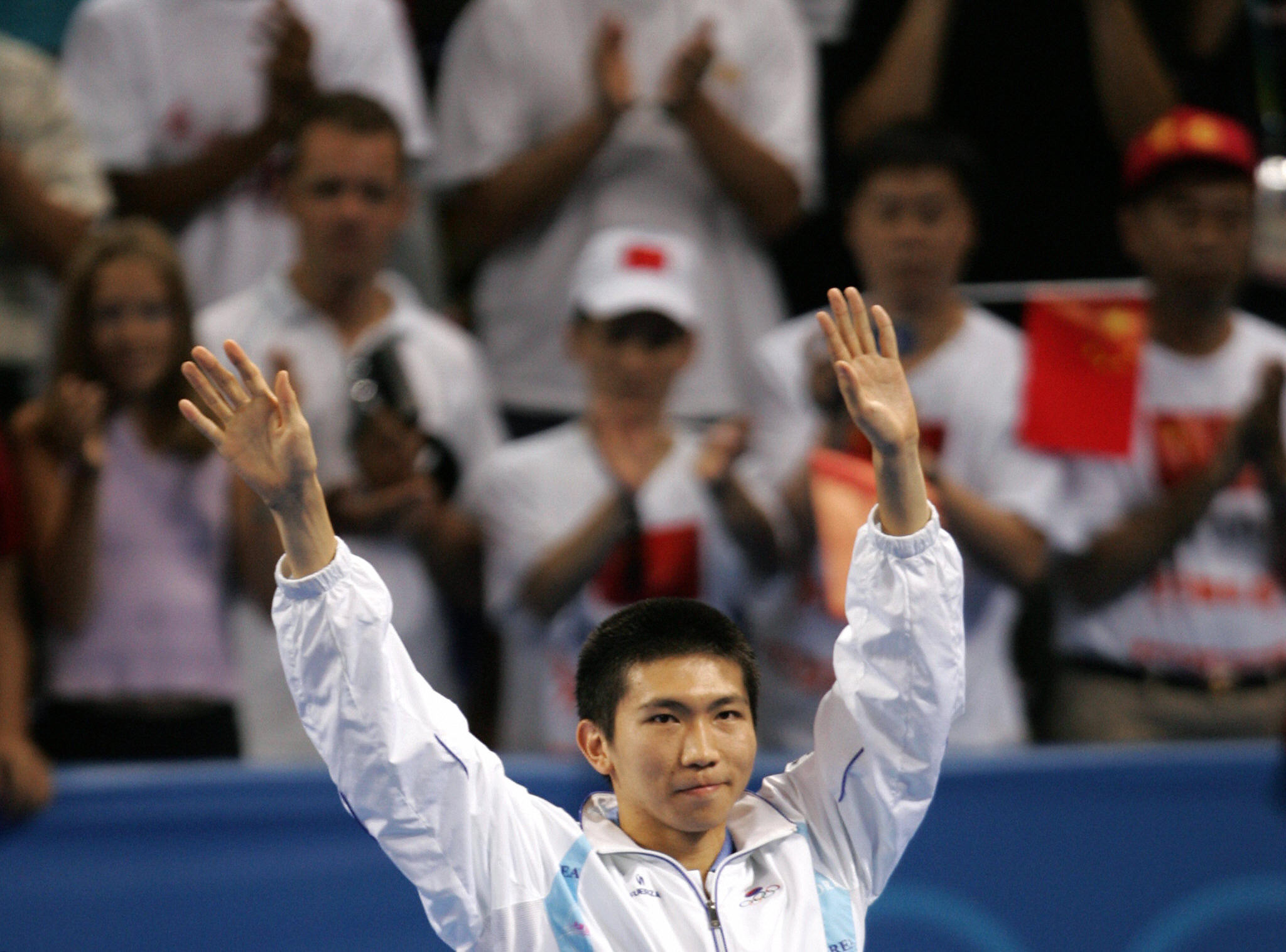 Ryu Seung-min was the men's singles table tennis gold medallist at the 2004 Olympic Games in Athens ©Getty Images