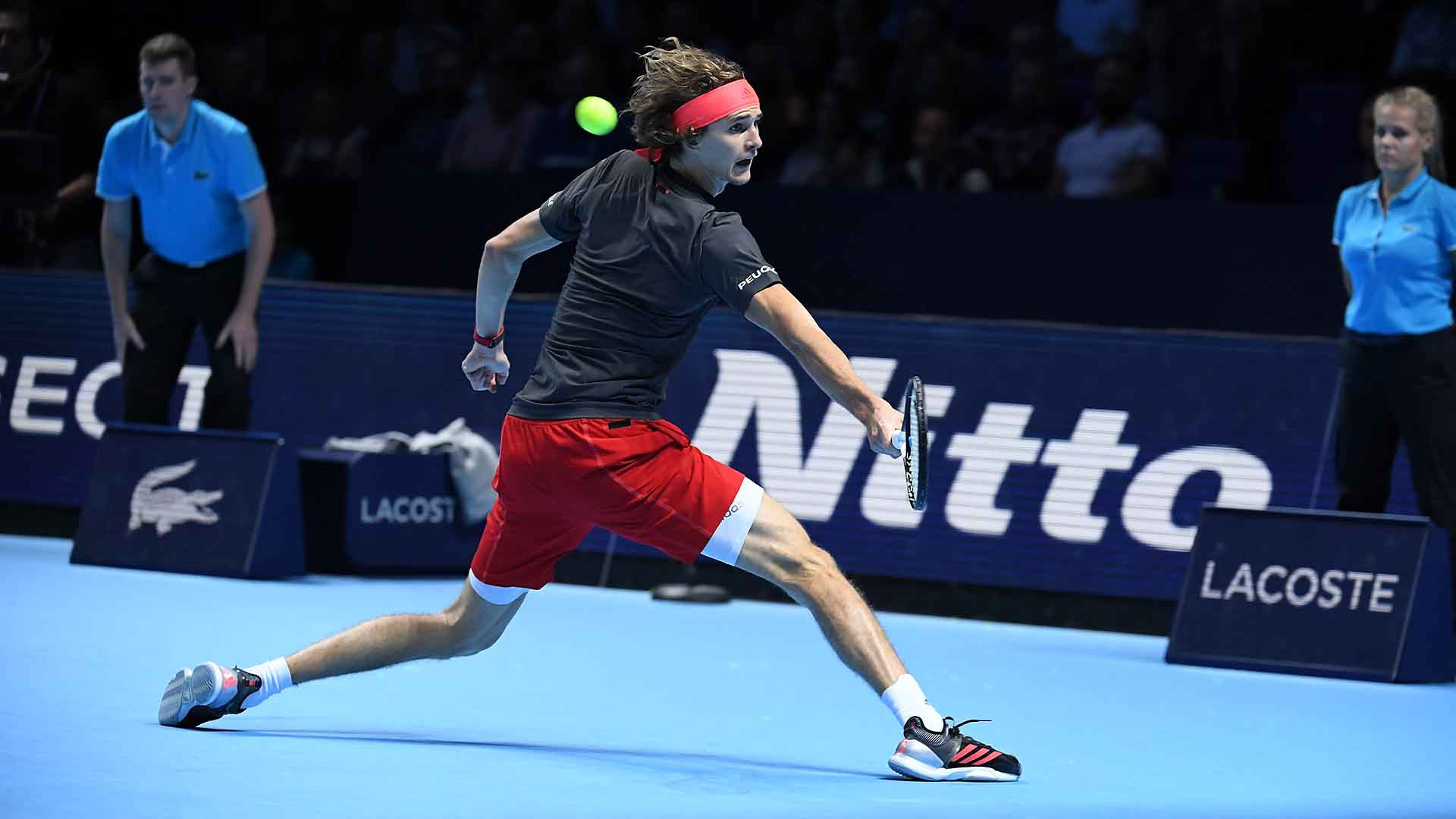 Germany's Alexander Zverev won the 2018 ATP Finals in London ©ATP Finals