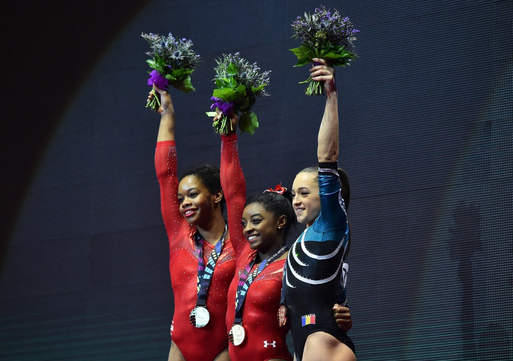 In pictures: 2015 Artistic Gymnastics World Championships day seven of competition