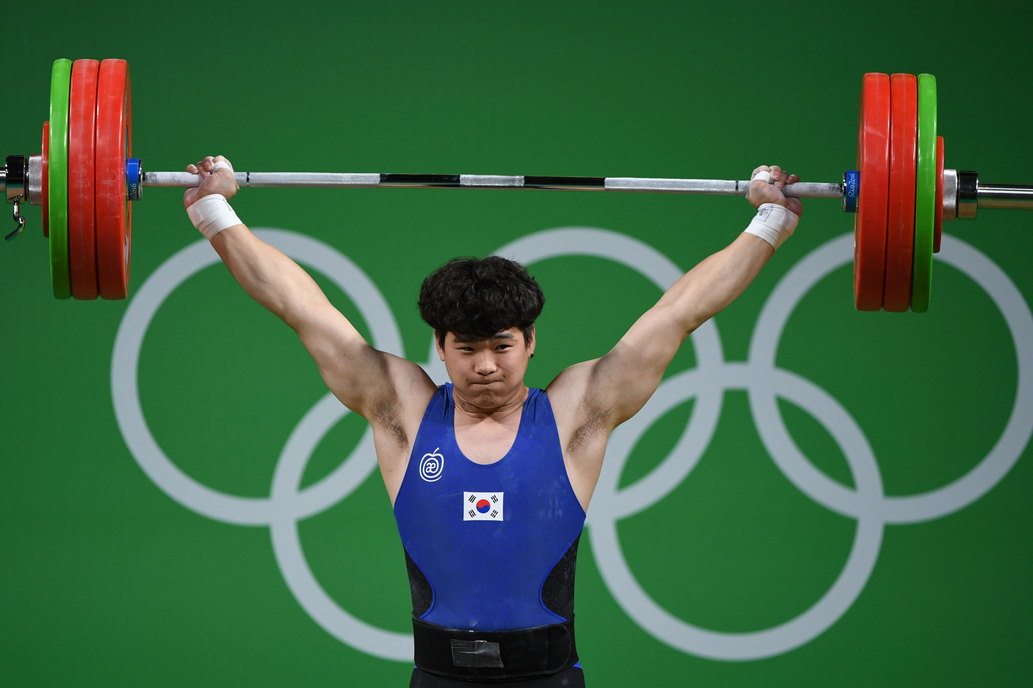 South Korea's Yu Dong-ju took the men's 89kg title ©Getty Images